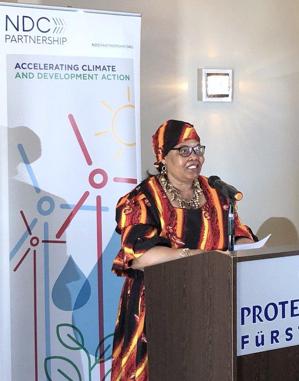 Namibia launches its NDC Partnership Plan